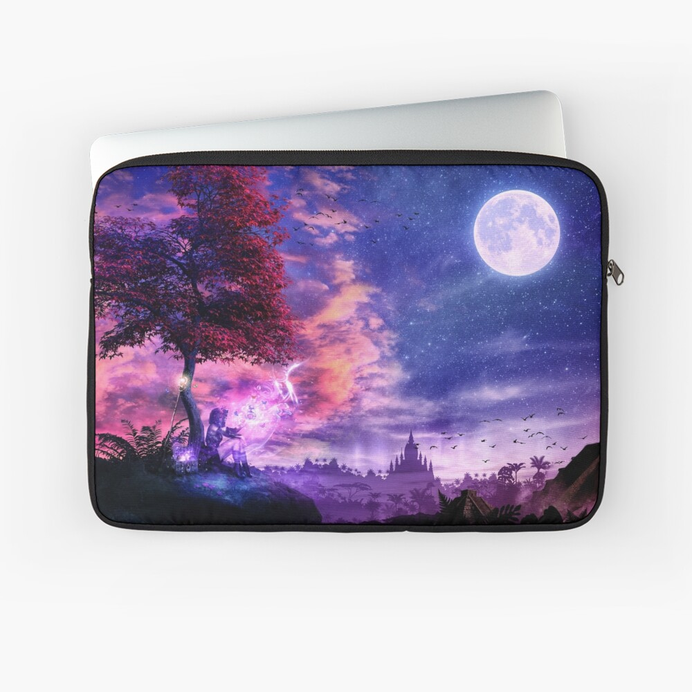 A Place For Fairy Tales Laptop Sleeve