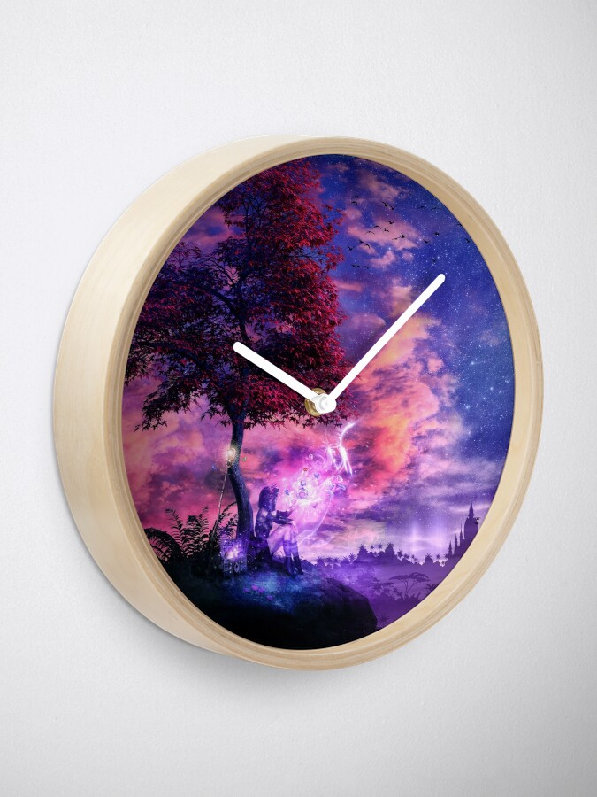 Alternate view of A Place For Fairy Tales Clock