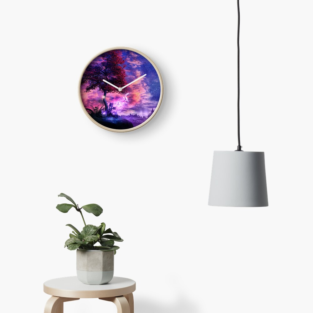 A Place For Fairy Tales Clock