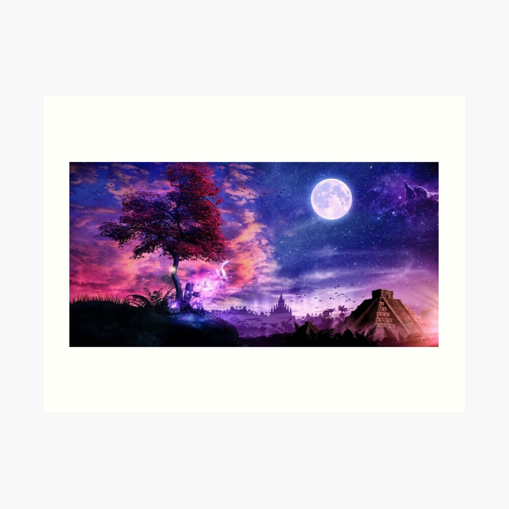 A Place For Fairy Tales Art Print