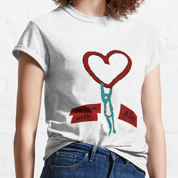 In love with Aile Classic T-Shirt
