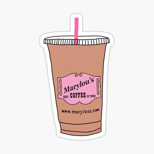 Marylou's Coffee Sticker