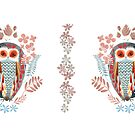 Two owls by Willmanannie