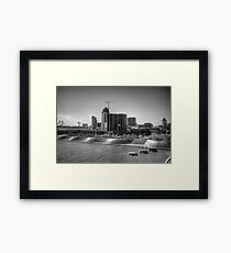 Welcome To Cincy Framed Print