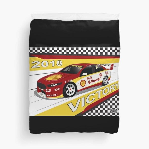V8 Supercar victory 2018 Duvet Cover