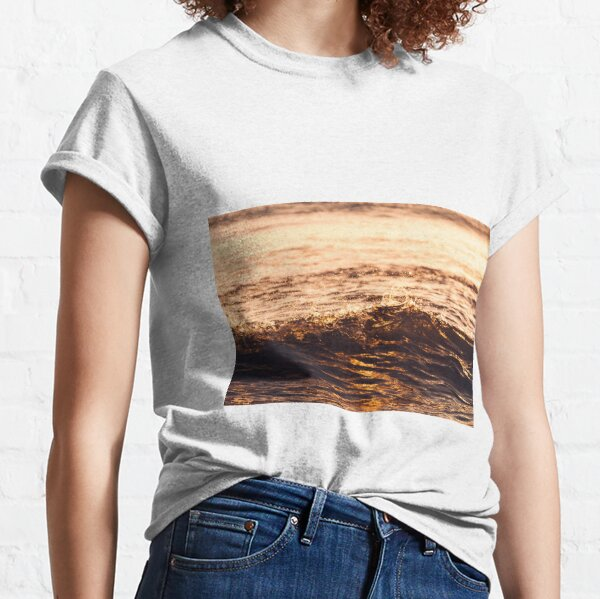 Atlantic Ocean Waves 4181 Classic T-Shirt