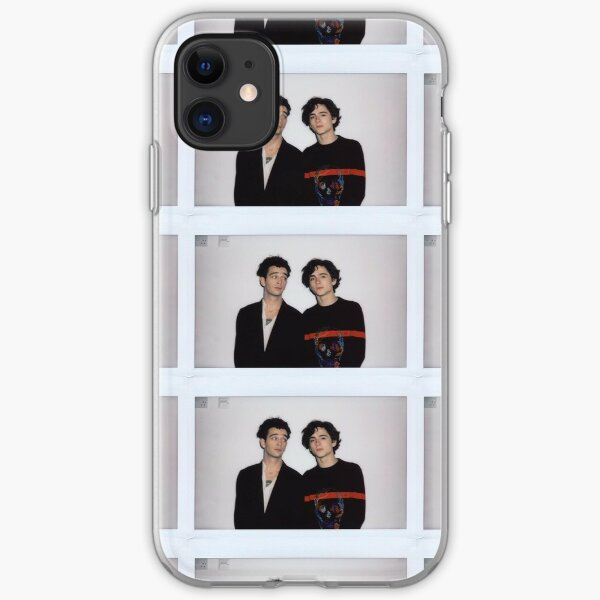 Matty Healy & Timothee Chalamet iPhone Soft Case