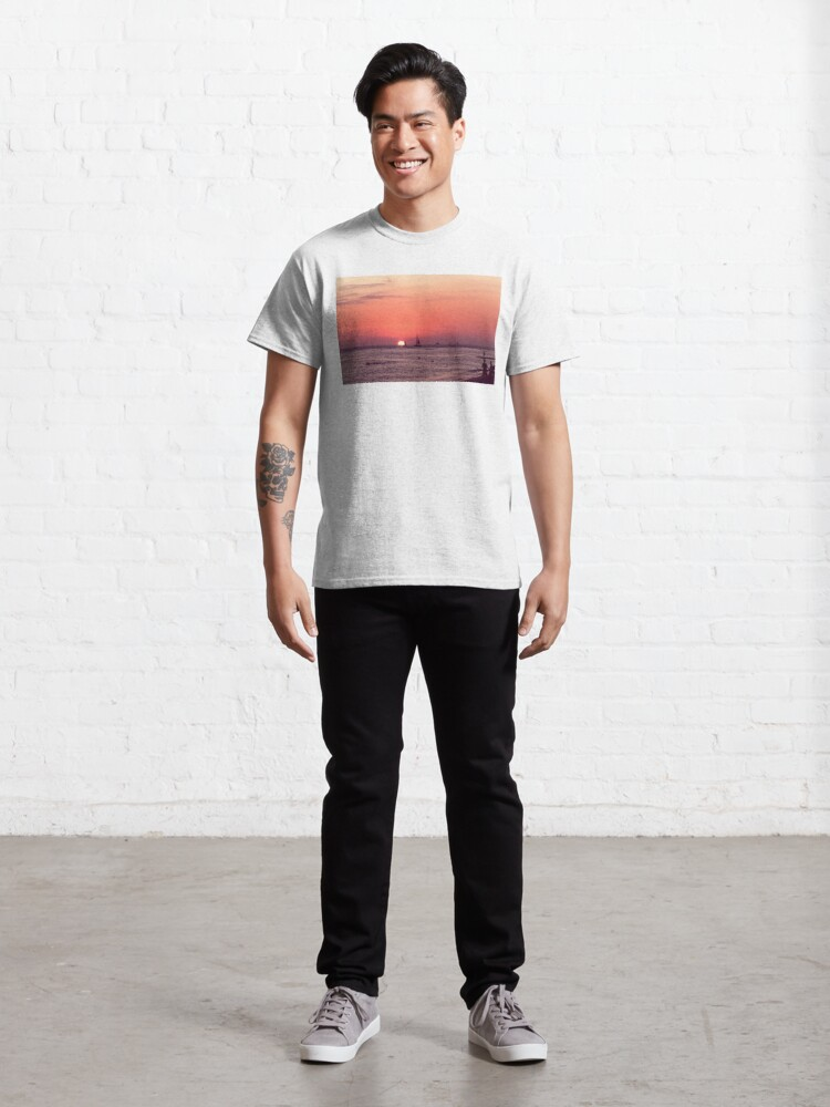 Alternate view of Sunset in Hawaii 0003 Classic T-Shirt