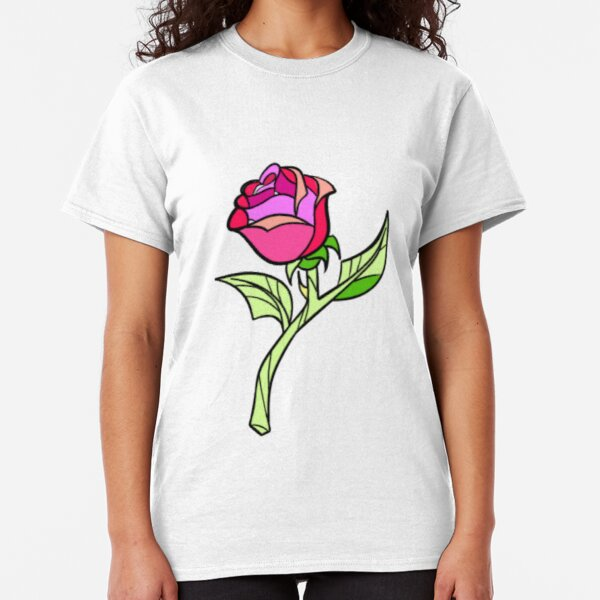 Beauty and the Beast's Enchanted Rose. Classic T-Shirt