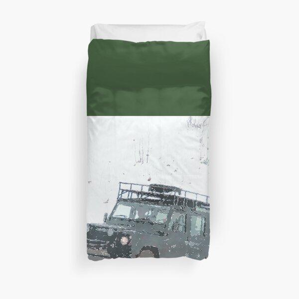 Landrover Christmas  Duvet Cover