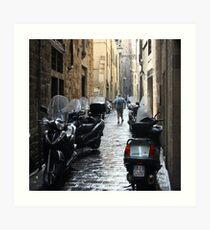 Subito! - Florence, Italy Art Print