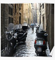 Subito! - Florence, Italy Poster