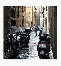 Subito! - Florence, Italy Photographic Print