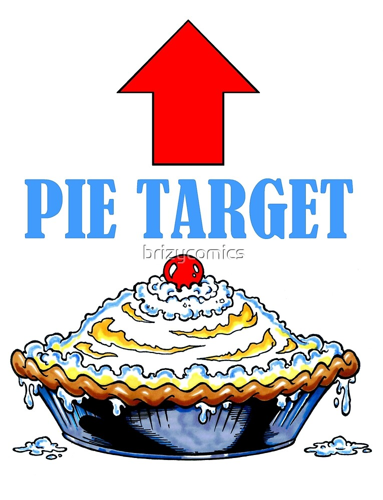 PIE TARGET shirt by brizycomics