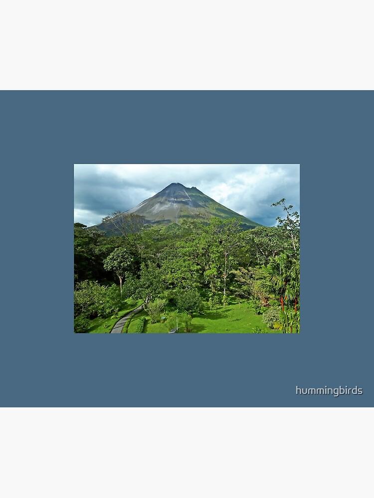 Arenal Volcano Garden View by hummingbirds