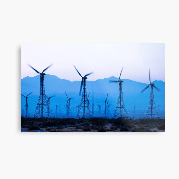 Blue Wind Energy 0286 Metal Print