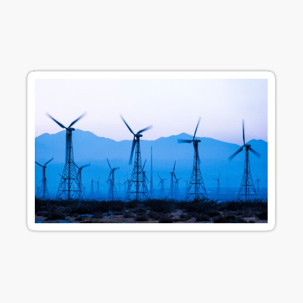 Blue Wind Energy 0286 Sticker