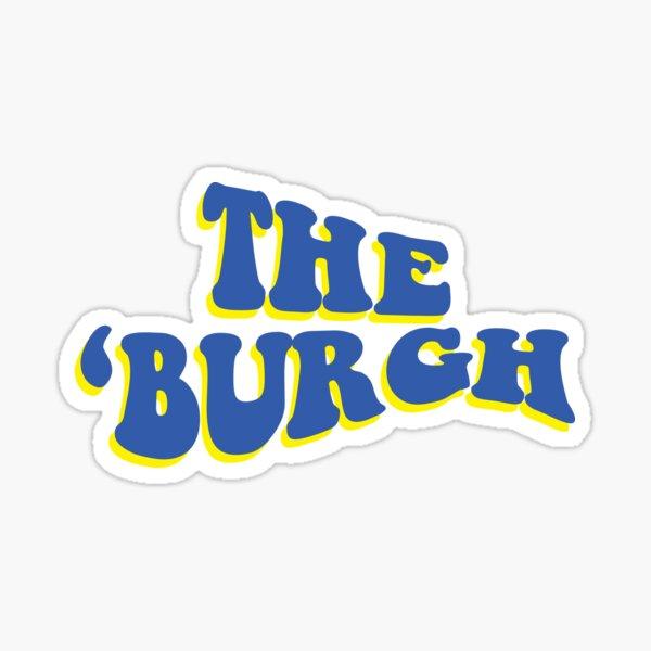 The 'Burgh Sticker