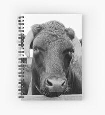 Feeling a tad bullish Spiral Notebook
