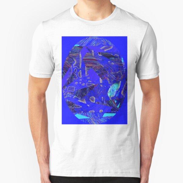 BLUE FAV Slim Fit T-Shirt