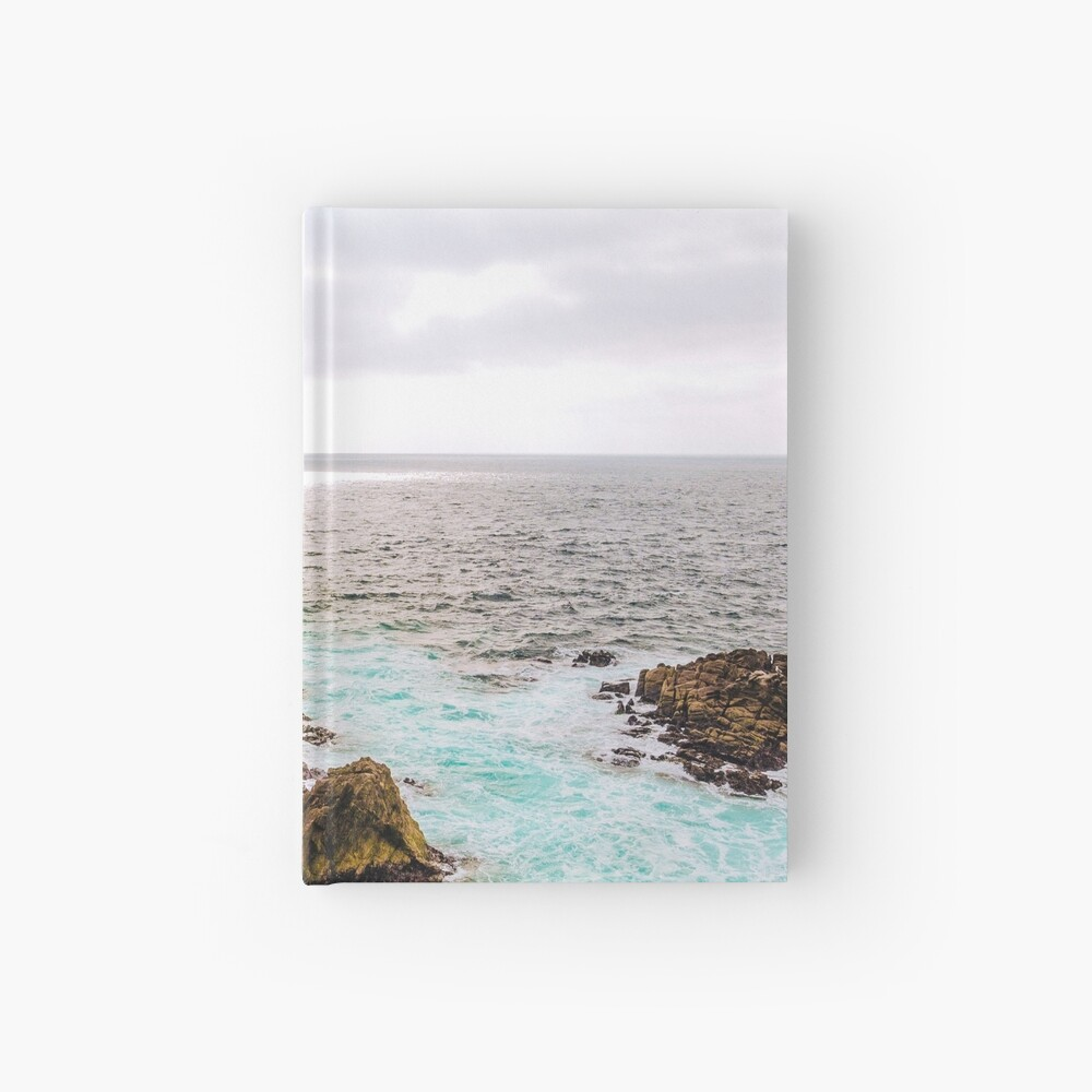 0720 California Pacific Coast Road Trip Hardcover Journal