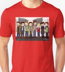 SuperWhoLock Lineup T-Shirt