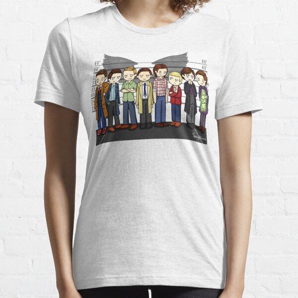 SuperWhoLock Lineup Essential T-Shirt
