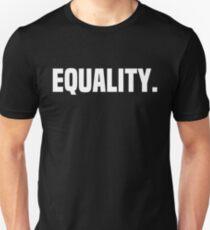 Camiseta unisex Igualdad