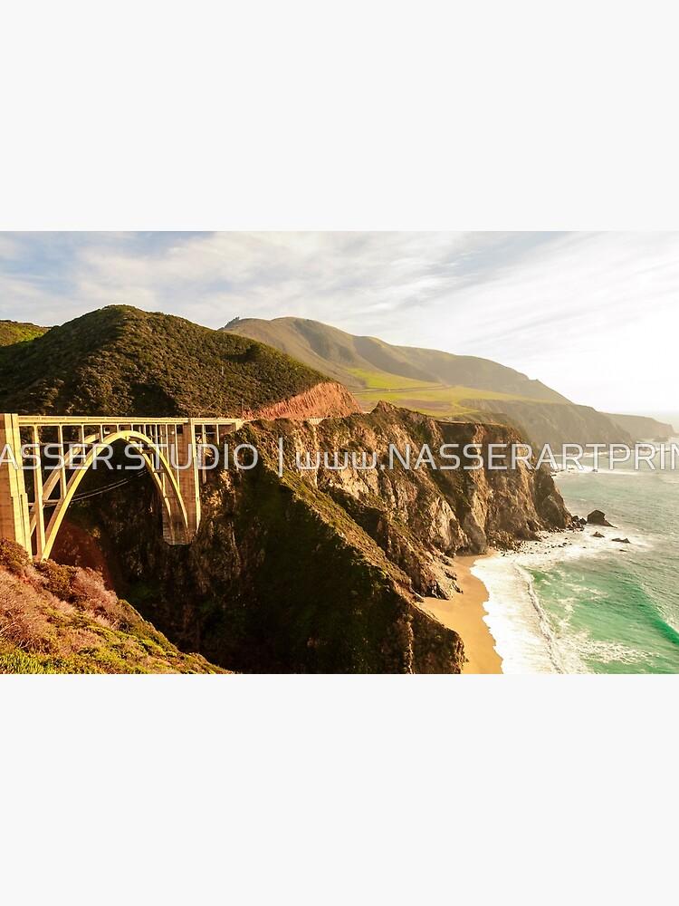 Bixby Bridge Big Sur California Pacific Coast Highway 0575 by neptuneimages