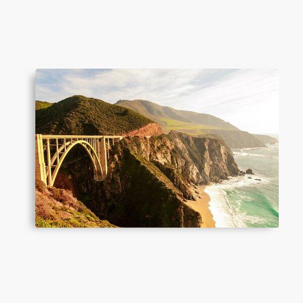 Bixby Bridge Big Sur California Pacific Coast Highway 0575 Metal Print