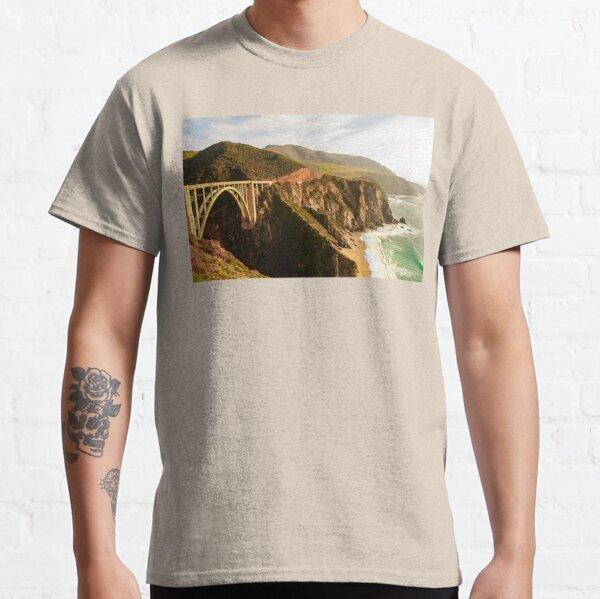 Bixby Bridge Big Sur California Pacific Coast Highway 0575 Classic T-Shirt