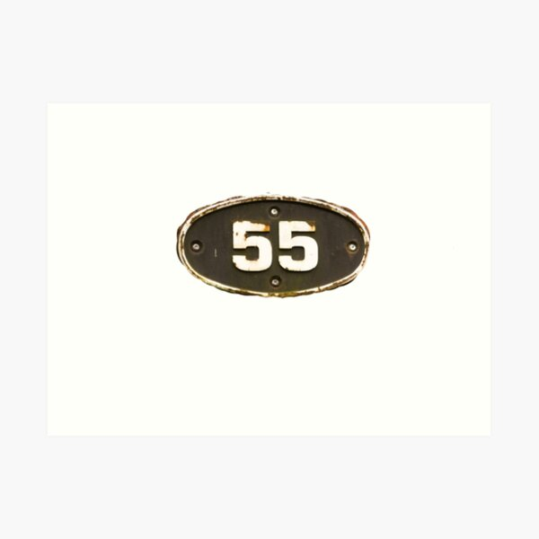 55 all the fives  Art Print