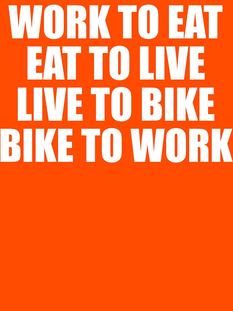 Live To Bike T Shirt by bitsnbobs