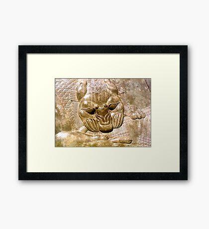 Bas-Relief in Persepolis Framed Print