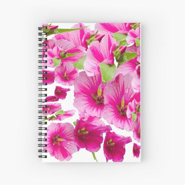 pink flowers aplenty Spiral Notebook