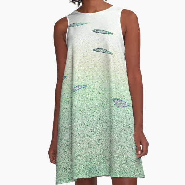 all the little fishy  A-Line Dress