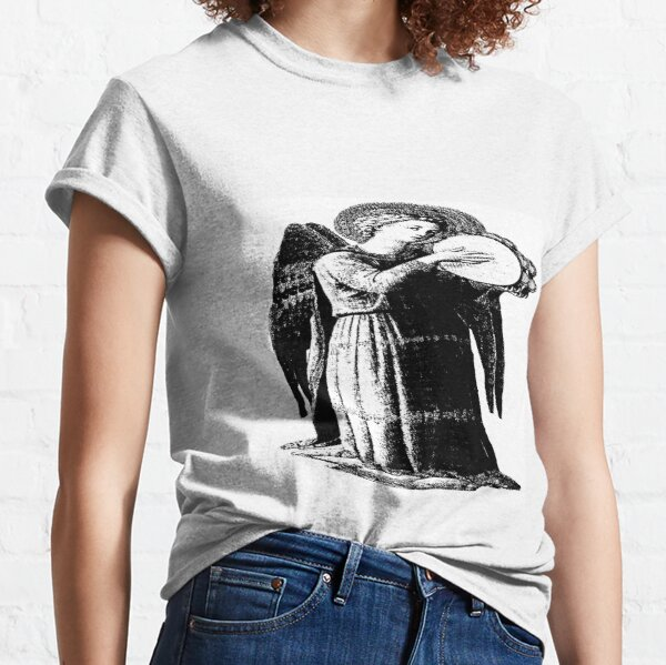 Angel with Tamborine  Classic T-Shirt