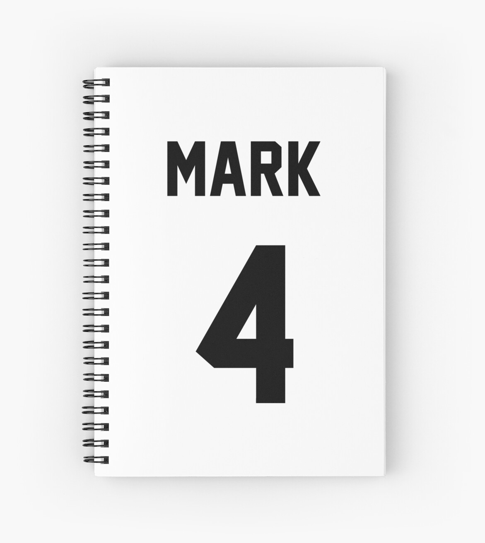 Quot Got7 Mark Jersey Quot Spiral Notebooks By Nitewalker314