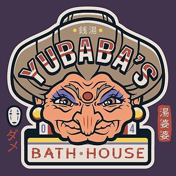Casa de baños de Yubaba de knightsofloam