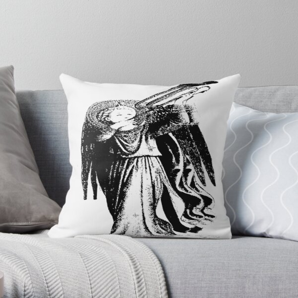 Angel with Trombone? Throw Pillow