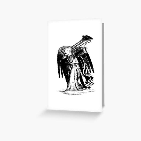 Angel with Trombone? Greeting Card