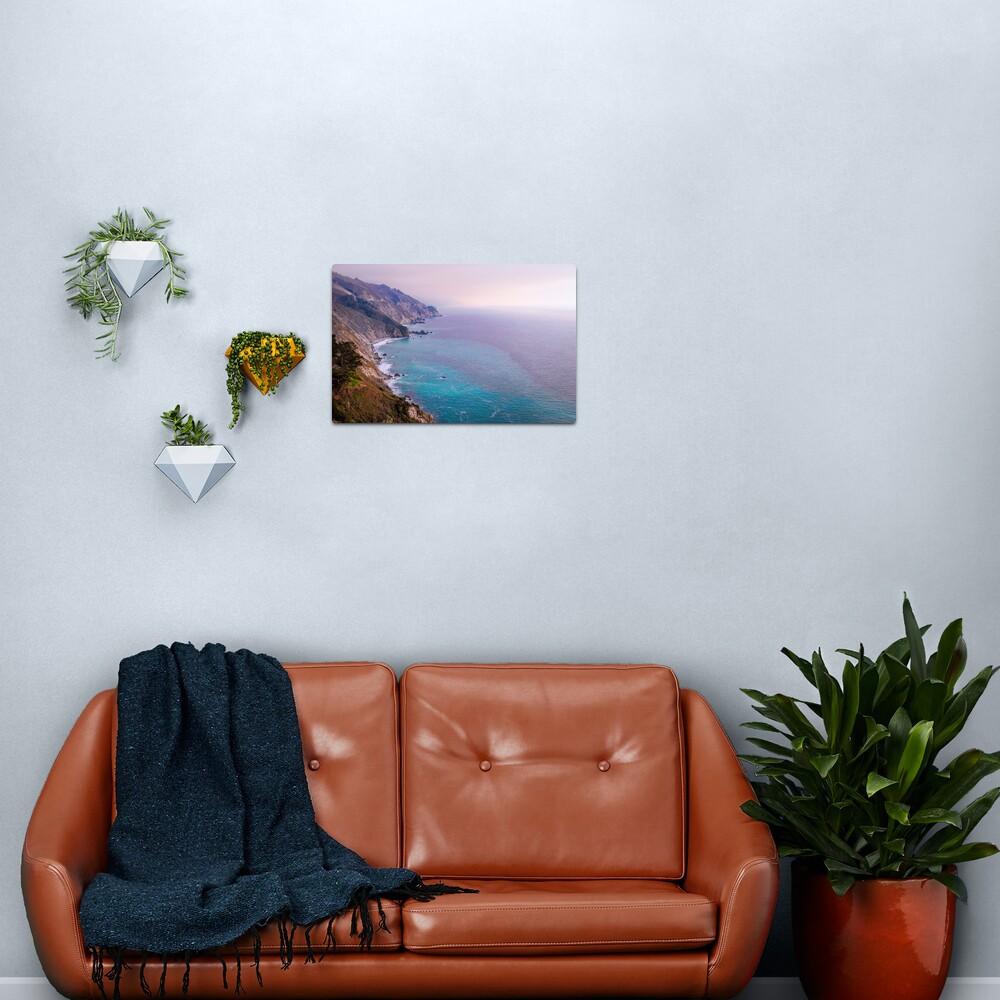 0743 California Pacific Coast Road Trip - Summer Vacation Landscape Scenic Art Metal Print