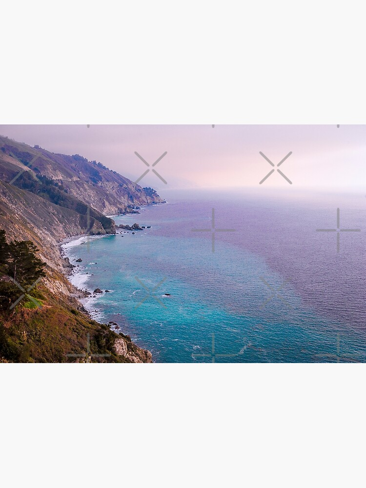 0743 California Pacific Coast Road Trip - Summer Vacation Landscape Scenic Art by neptuneimages
