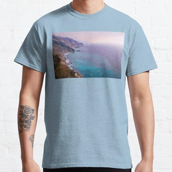 0743 California Pacific Coast Road Trip - Summer Vacation Landscape Scenic Art Classic T-Shirt