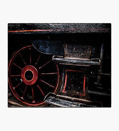Steam Wheels  Photographic Print
