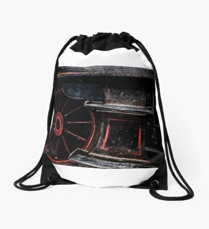 Steam Wheels  Drawstring Bag