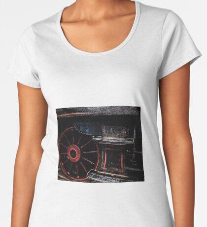Steam Wheels  Women's Premium T-Shirt