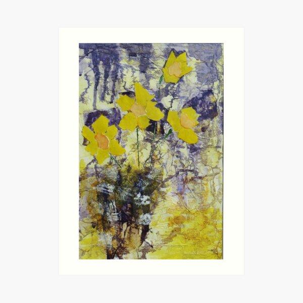 Daffodil time Art Print