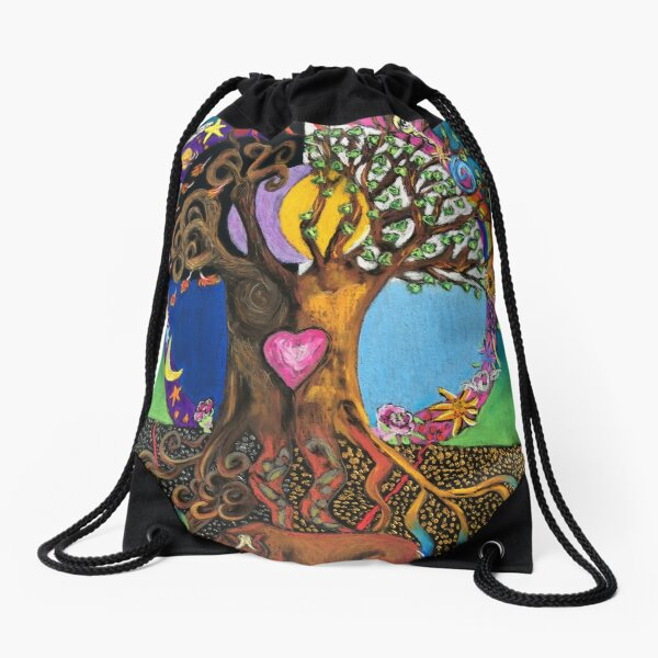 Enertree Horse Drawstring Bag