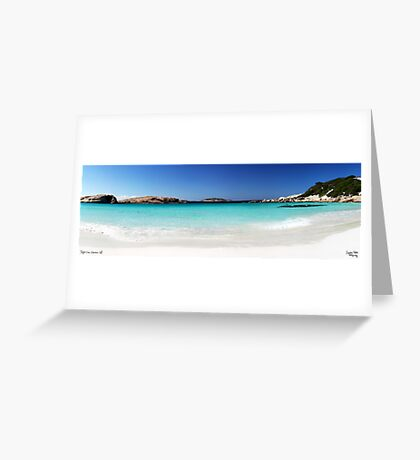 Twlight Cove Greeting Card
